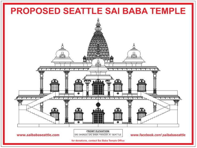 Saibaba Temple Plan